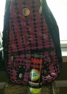 Wak sak tennis bags.  So great!